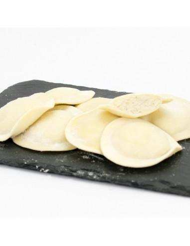 Raviolis de quatre formatges